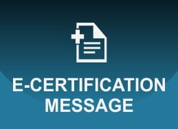 E-Certification Message